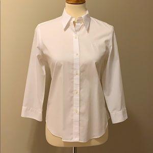 Lauren by Ralph Lauren perfect white blouse